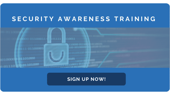 Sign Up Now for Security Awareness Training