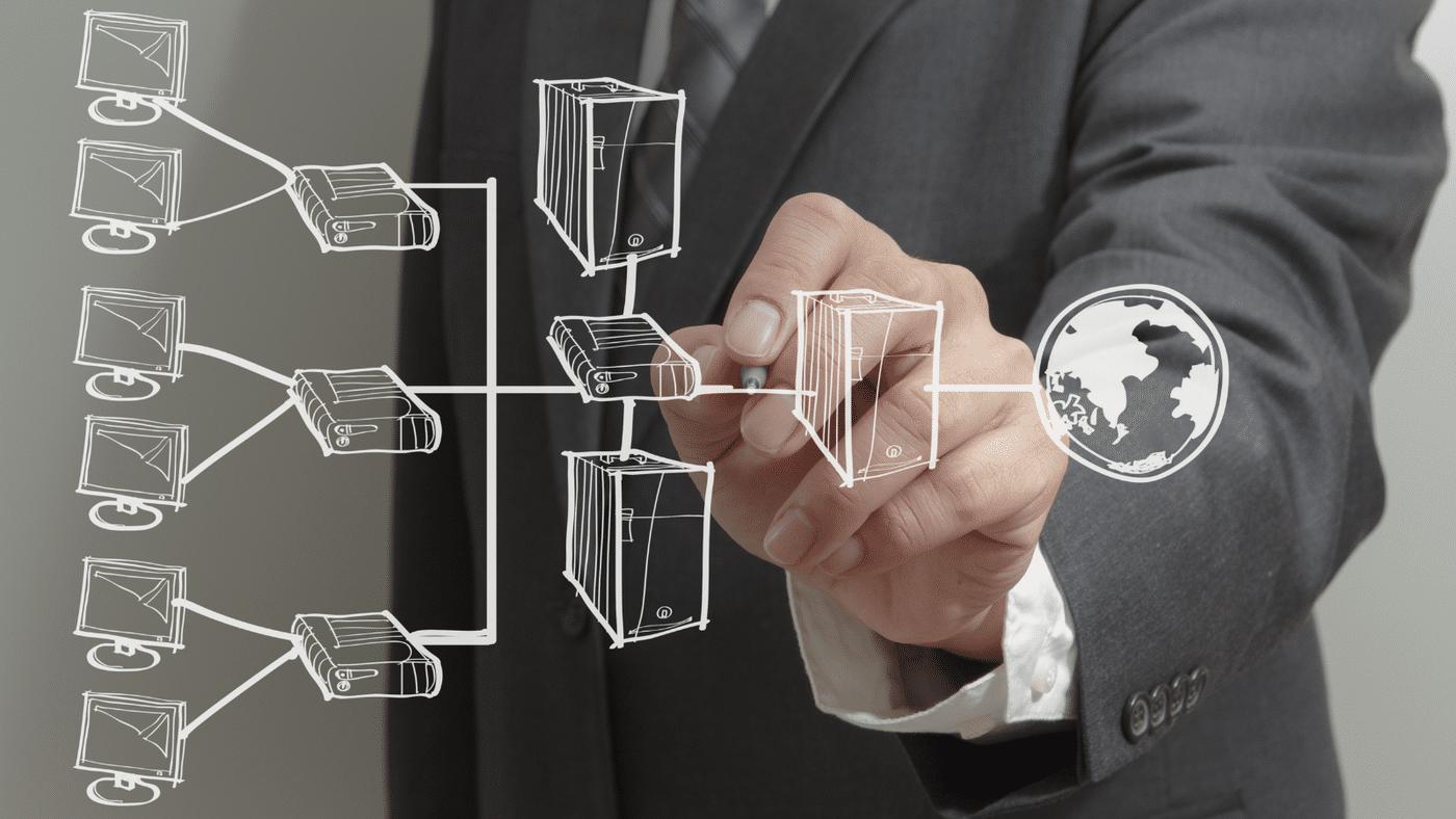 Website_Enterprise Network Overview