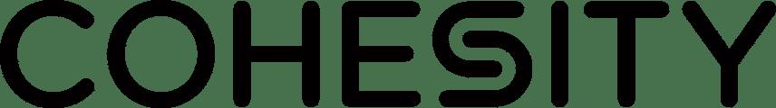 Cohesity Logo - BLACK